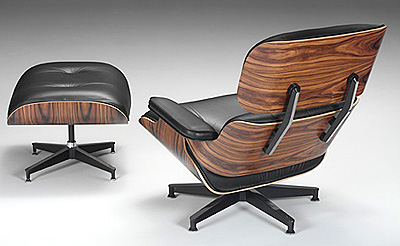 Eames Lounge and Ottoman by Herman Miller
