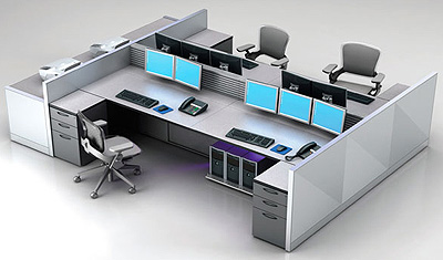 Eurocraft Trading Desks by Nextech