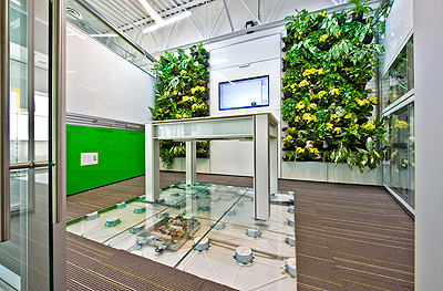 DIRTT Living Plant Wall